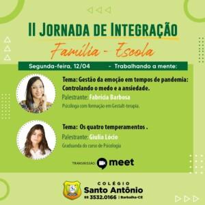 II Jornada de Integração
