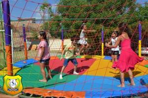 Manhã de muita diversão na Semana da Criança do Colégio Santo Antônio